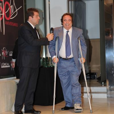 06FEBRERO2012 Galardones al reconocimiento profesional con motivo del 50 aniversario de la trayectoria profesional de Josep Pons. Dyango. Foto: Manel Martin.