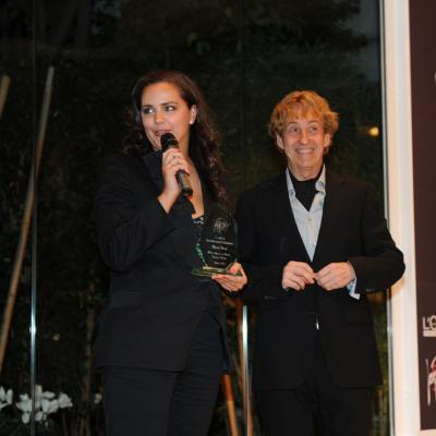 06FEBRERO2012 Galardones al reconocimiento profesional con motivo del 50 aniversario de la trayectoria profesional de Josep Pons. Mireia Verdú. Foto: Manel Martin.