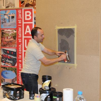 20OCTUBRE2011 Imagen del taller práctico de Bauhaus. Foto: Manel Martin.