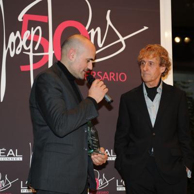 06FEBRERO2012 Galardones al reconocimiento profesional con motivo del 50 aniversario de la trayectoria profesional de Josep Pons. Ot Pi. Foto: Manel Martin.