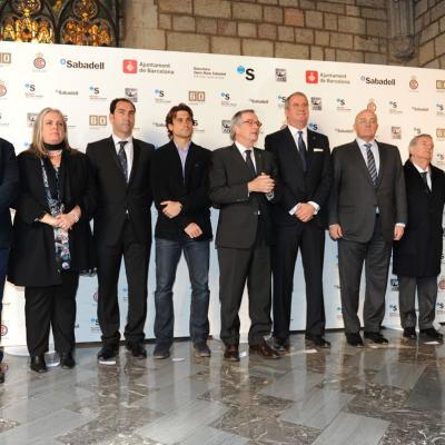 08FEBRERO2012 Presentación del Barcelona Open Banc Sabadell, en el Saló de Cent del Ayuntamiento de Barcelona. Foto: Manel Martin.