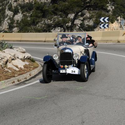 03MARZO2013 55 edición del rally de coches de época Barcelona-Sitges. Foto: Manel Martin.