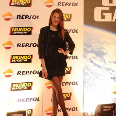 03FEBRERO2014 66ª Gala Mundo Deportivo. Andrea Huisgen. Foto: Manel Martin.
