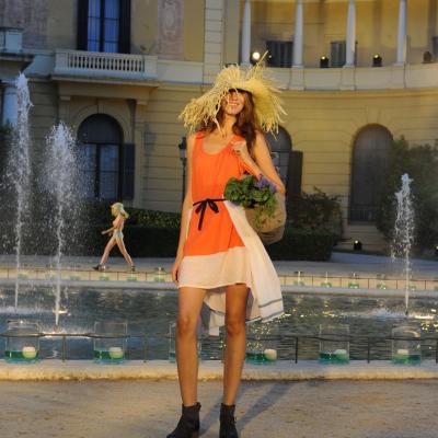 12JULIO2012 Desfile de TCN en la 080 Barcelona Fashion. Foto: Manel Martin.
