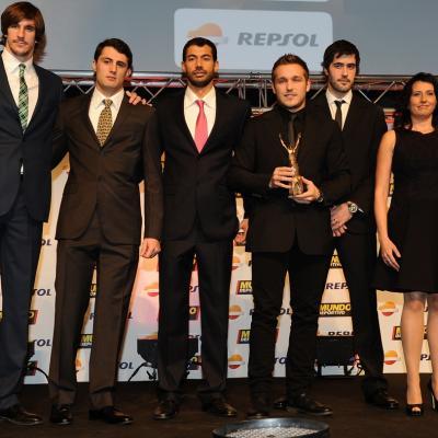 03FEBRERO2014 66ª Gala Mundo Deportivo. Selección española de balonmano. Foto: Manel Martin.