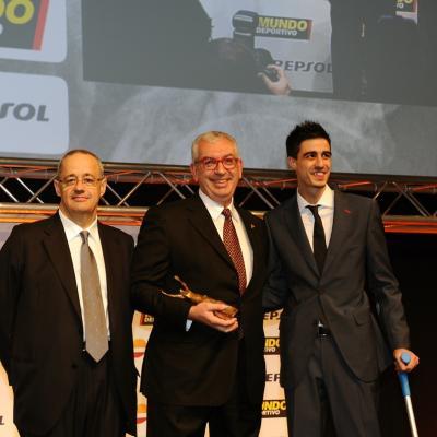 03FEBRERO2014 66ª Gala Mundo Deportivo. Trofeo a la medicina deportiva, Jaume Vilaró. Foto: Manel Martin.