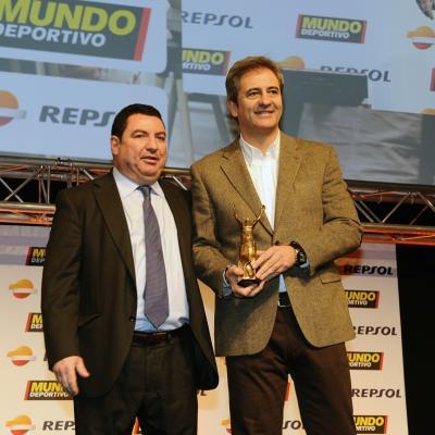 03FEBRERO2014 66ª Gala Mundo Deportivo. Premio Juan José Castillo, Manolo Lama y Manu Carreño. Foto: Manel Martin.