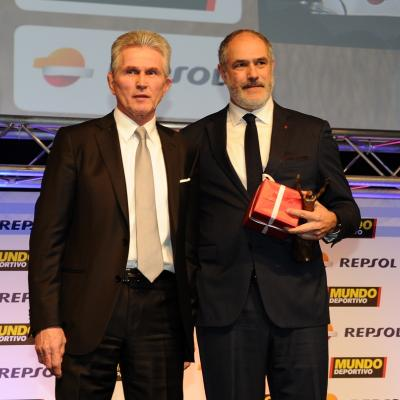 03FEBRERO2014 66ª Gala Mundo Deportivo. Trofeo al mejor entrenador, Tito Vilanova. Foto: Manel Martin.