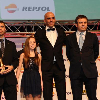 03FEBRERO2014 66ª Gala Mundo Deportivo. Premio a la formación deportiva, CAR de Sant Cugat. Foto: Manel Martin.