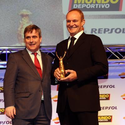 03FEBRERO2014 66ª Gala Mundo Deportivo. Premio a los valores del deporte, François Pienaar. Foto: Manel Martin.