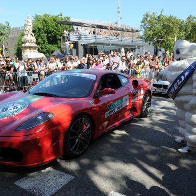15JULIO2012  ET2012, salida desde Barcelona, para disfrutar durante siete días de ruta automovilística y turística. Foto: Manel Martin.