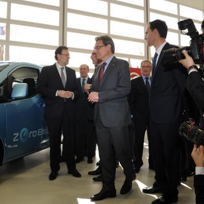 19MAYO2013 Salón Internacional del Automóvil de Barcelona. Foto: Manel Martin.