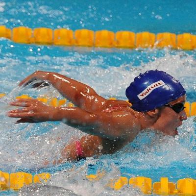 04AGOSTO2013 Clausura y medalla de plata de Mireia Belmonte. 400m estilo, Mireia Belmonte. Foto: Manel Martin.