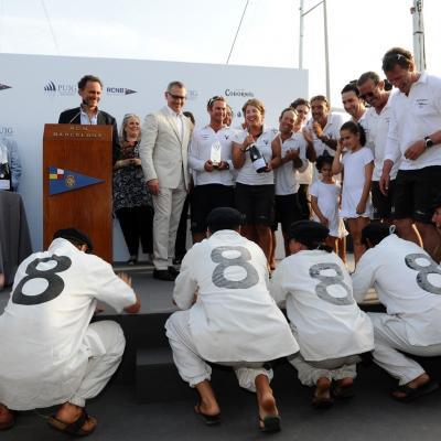 13JULIO2013 VI Regata Puig Vela Clàssica Barcelona.Clase Big Boat para Moonbeam III.  Foto: Manel Martin.