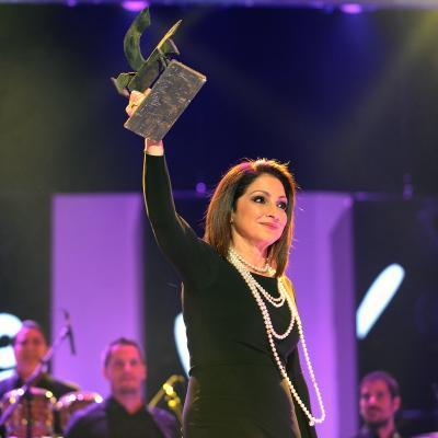 20NOVIEMBRE2013 Premios Ondas, en su 60 aniversario.  Gloria Estefan. Foto: Manel Martin.