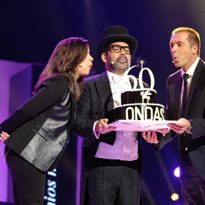 20NOVIEMBRE2013 Premios Ondas, en su 60 aniversario. Foto: Manel Martin.