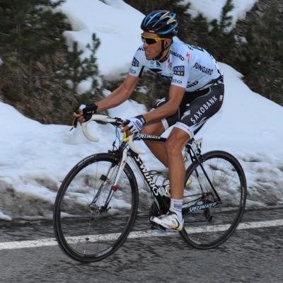 10MAYO2012 Alberto Contador en la etapa reina de la Volta a Catalunya 2011. Foto: Manel Martin.
