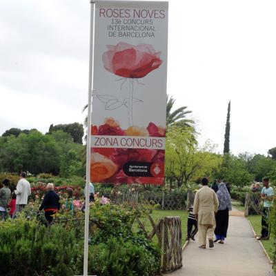 12MAYO2013 13ª Edición del Concurso Roses Noves en el Parque Cervantes. Foto: Manel Martin.