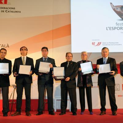 17DICIEMBRE2012 Festa de l'Esport Català. Premio Centenario. Foto: Manel  Martin.