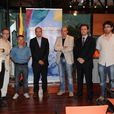 06JULIO2011 El director del Consejo Catalán del Deporte, Albert Marco, presidió la presentación de la Everest Trail Race 2011. Foto: Manel Martin.