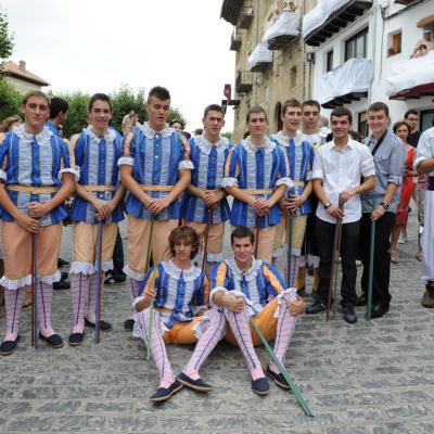 AGOSTO2012 El Sexenni en Morella. Foto: Manel Martin.