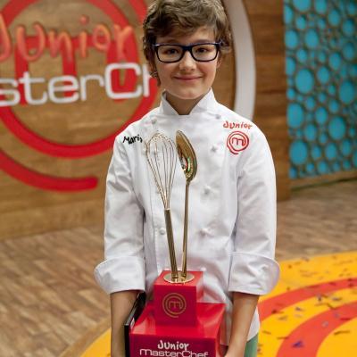 06ENERO2014 Mario, el primer MasterChef Junior. Foto: RTVE.