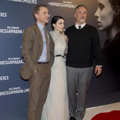 """04ENERO2012 Premiére en Madrid de la película """"Millennium: los hombres que no amaban a las mujeres"""", con David Craig. Foto: Goyo Conde."""