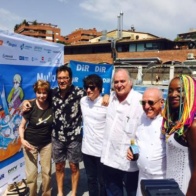 "03JULIO2015 Jordi Cruz, Carles Gaig, Abel Folk y  Lucrecia apadrinan el ""Mulla't per l'esclerosi múltiple""."