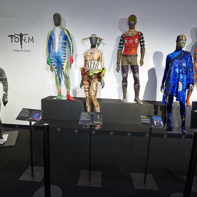 ENERO2018 Exposición 'TOTEM, Behind the Scenes' de Cirque du Soleil.