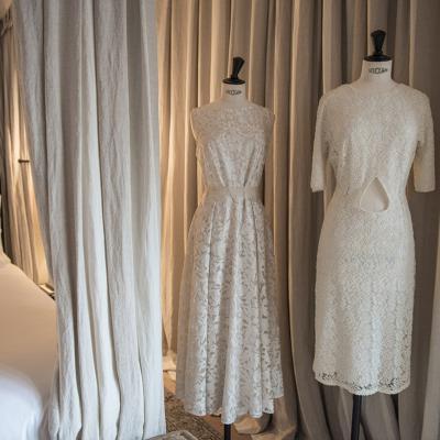 24ENERO2017 Elisabeth Reyes amadrina la colección atelier de Olga Macià.