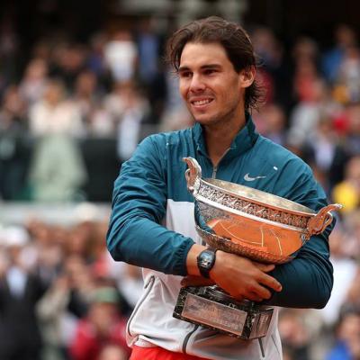 09JUNIO2013 Rafa Nadal logra su octavo Roland Garros consecutivo. Foto: Agencia.