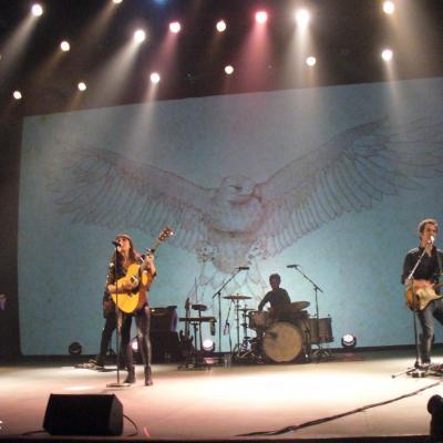 13ENERO2012 Concierto de Amaral en Palma de Mallorca. Foto: Pilar Santiesteban.