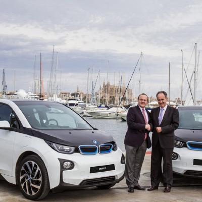 30JULIO2016 BMW, coche oficial de la 35ª Copa del Rey de Vela y del Real Club Náutico de Palma (RCNP).