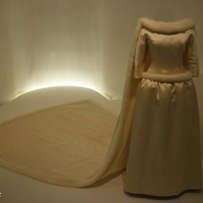24MARZO2012 40 años del fallecimiento del modisto-creador español, Cristóbal Balenciaga.Vestido de novia de Fabiola de Bélgica.