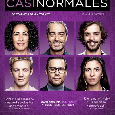20OCTUBRE2017 'Casi Normales' prórroga hasta el 14 de noviembre. Foto: Montse Carreño.