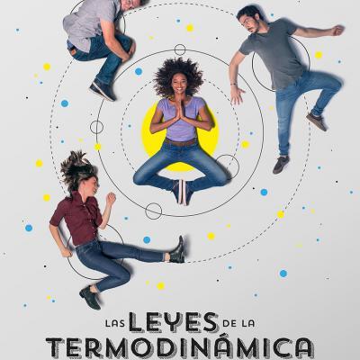 FEBRERO2018 Cartel oficial de 'Las Leyes de la Termodinámica'.
