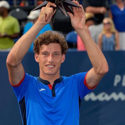 28AGOSTO2016 Pablo Carreño gana su primer torneo ATP en Winston-Salem.