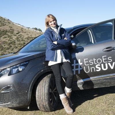 05DICIEMBRE2016  El equipo de María León ganador en el Peugeot 3008 SUV Trophy.