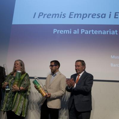 """10JUNIO2013 Entrega de los primeros premios de """"Empresa y Deporte"""". Premio al paternariado.  Foto: FBO."""