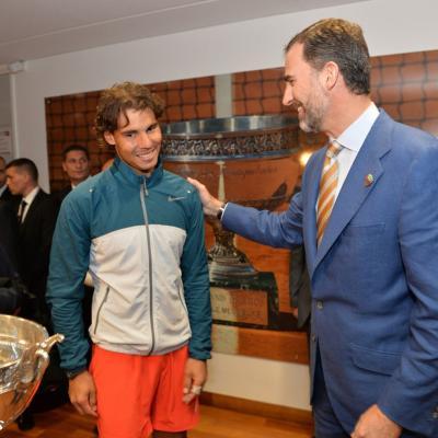 09JUNIO2013 Rafa Nadal logra su octavo Roland Garros consecutivo. Foto: Agencia..