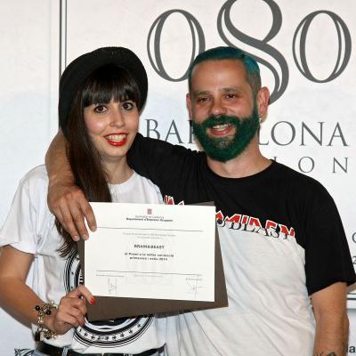 11JUILIO2013 Entrega del premio a Brain & Beast. Foto: Organización.