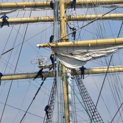 24SEPTIEMBRE2013 Mediterranean Tall Ships Regatta en Barcelona, del 21 al 24. Foto: FNOB.