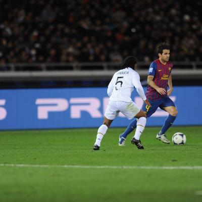 18DICIEMBRE2011 El Barça conquista el Mundial de Clubes destrozando al Santos por 4-0. (Photo by Getty Images for TOYOTA).