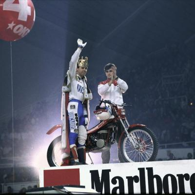 05FEBRERO2017 Trial Indoor Solo Moto en Barcelona celebrando los 40 años.Tarrès en 1987.