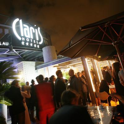 12JUNIO2014 Inauguración de la Terraza del Claris.