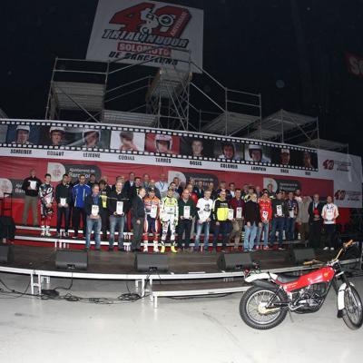 05FEBRERO2017 Trial Indoor Solo Moto en Barcelona celebrando los 40 años.