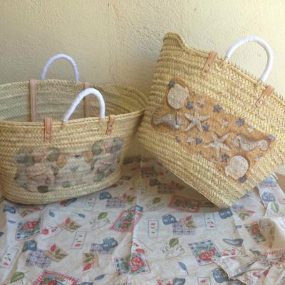 18JULIO2013 Capazos y alpargatas de la marca Cloudy bags, colección summer 2.013. Foto: Cloudy bags.