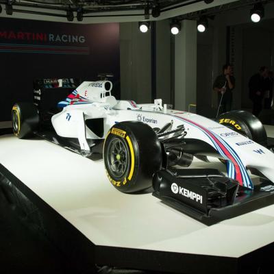 06MARZO2014 Presentación en Londres del equipo de F1 WILLIAMS MARTINI RACING.