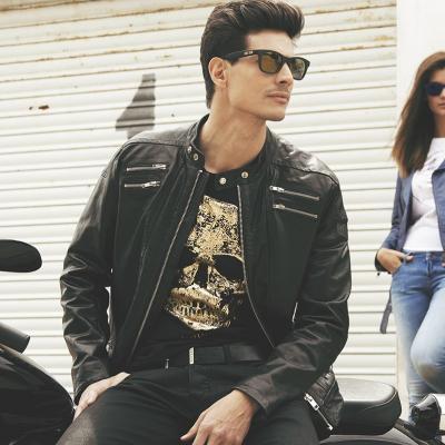 30JUNIO2015 Jorge Lorenzo presenta Skull Rider en la 080 Barcelona Fashion.