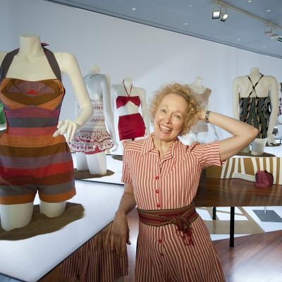 15JUNIO2012 Nueva exposición de trajes de baño en el Museo Balenciaga. Foto: Museo Balenciaga.